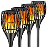 Best Led Torches - Ollivage Solar Lights Outdoor - Flickering Flames Torch Review