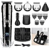 Manli 11-in-1 Waterproof Cordless Hair Beard Trimmer Grooming Kit