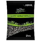 Aquael - Gravilla de basalto 2–4mm–Bolsa de 2kg