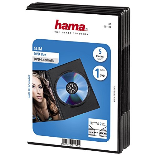 Hama Storage Case pack5 Black - 51180