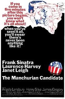 Best manchurian candidate poster Reviews