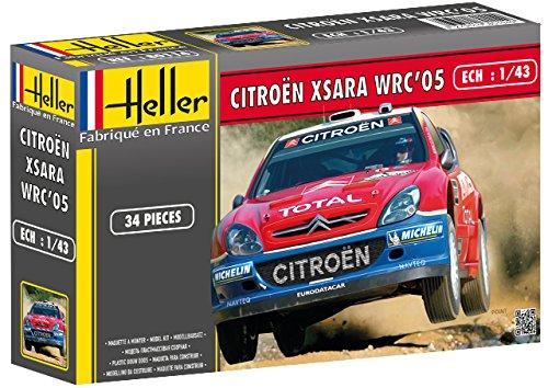 """Heller - 80114 - Maqueta para Construir - Citroen Xsara WRC \'05 \""""Rallye De Turquie - 1/43"""