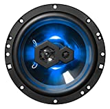 BOSS Audio Systems Elite B65LED 6.5 Inch Car Speakers - 300 Watts of Power Per Pair, 150 Watts Each, 3 Way, Sold in Pairs