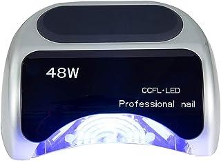 Secadores de UñAs Profesional sin dolor secador de uñas de alta potencia lámpara de fototerapia de inducción inteligente de plata cubierta de diapositivas máquina de manicura 110 / 220v