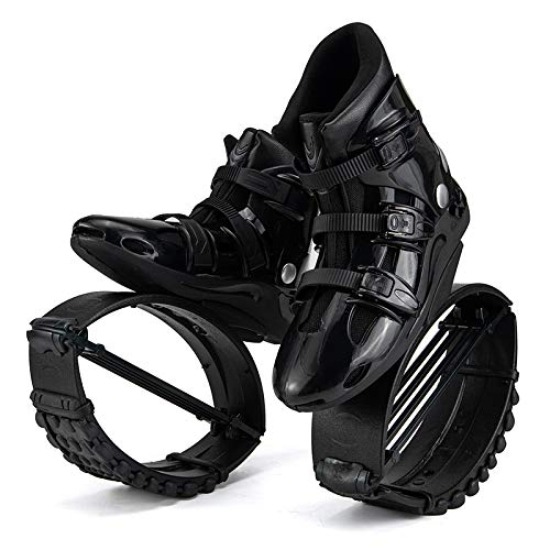 New 2021Kangaroo Jumping Shoes Upgrade 4T Spring Running Stilts Anti-Gravity Boots Indoor Sports Body Gym Bounce Shoes for Adult (XL-39/41)