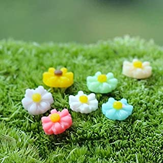 SHENYI Home and Jardin Nice Coloré Petite Daisy Micro Paysage Décorations De Jardin DIY Ornement Beau Stockage (Color : Gr...