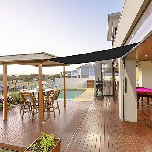Sonnensegel,Sonnensegel für Den Balkon,Sonnenschutz UV-Schutz Wetterschutz Reißfestigkeit Wasserabweisend Schattentuch für Garten Balkon und Outdoor Aktivitäten(2*3m...