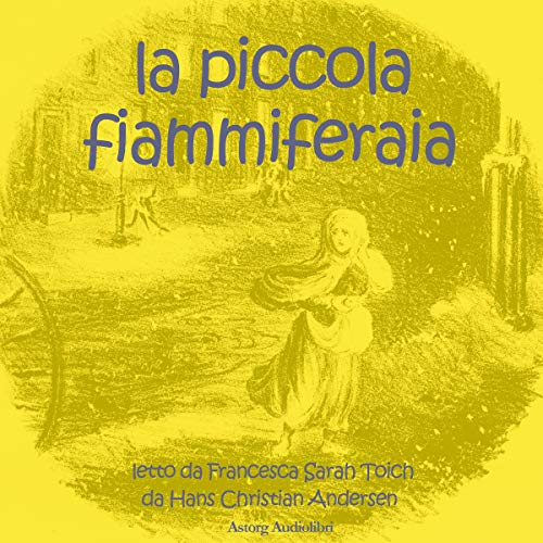 La piccola fiammiferaia audiobook cover art