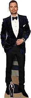 US-Way e.K. Expositor de cartón Sebastian Stan, aprox. 184 cm, figura de cine, figura de cartón, tamaño real