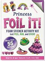 Princess Foil It! Foam Sticker Activity Kit