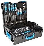 GEDORE 1100-004 / 30-teiliges Starter-Werkzeugsortiment in praktischer L-BOXX 136 / Ring-Maulschlüssel / Hebel-Umschaltknarre / Schraubendreher / Universalzange / Spannungsprüfer / Mehrfachzange