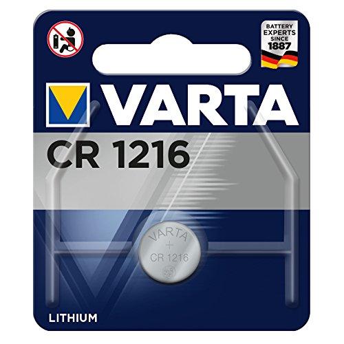 Varta Professional Lithium Knopfzelle CR1216, 1er Pack