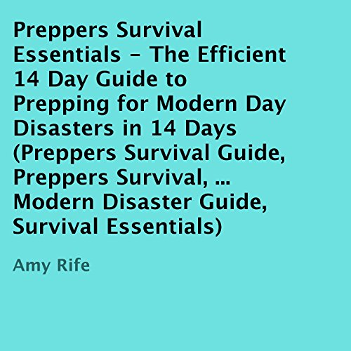 Preppers Survival Essentials audiobook cover art