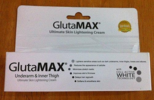 Glutamax Underarm & Inner Thigh Lightening Cream by GlutaMax