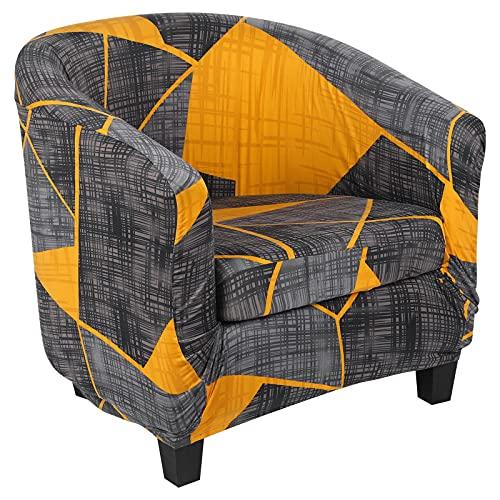 Dihope - Funda de sillón Chesterfield funda de sofá elástica Slipcover extraíble protector de sillón modelo Tullsta lavable (M,1 unidad)
