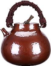 0,9 l Jeden kawałek arkusza miedzi, aby wykonać butelkę miedzi, jednoczęściowy czajnik miedziany, czajnik czysty miedzian...