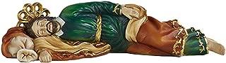 Sleeping Catholic Saint Joseph Resin Statue Figure, 6 Inch