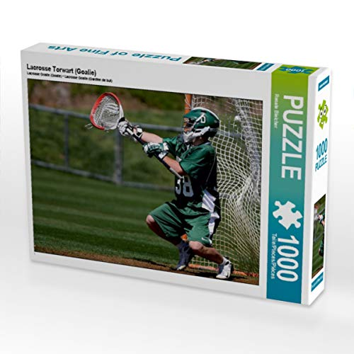 CALVENDO Puzzle Lacrosse Torwart (Goalie) 1000 Teile Lege-Größe 64 x 48 cm Foto-Puzzle Bild von Renate Bleicher