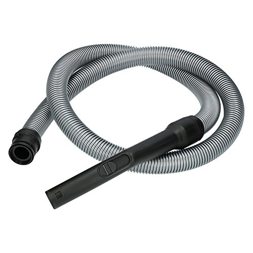 Wessper® Tuyau pour aspirateur Miele Complete C2 Ecoline Plus (ø35mm, 200cm, Noir)
