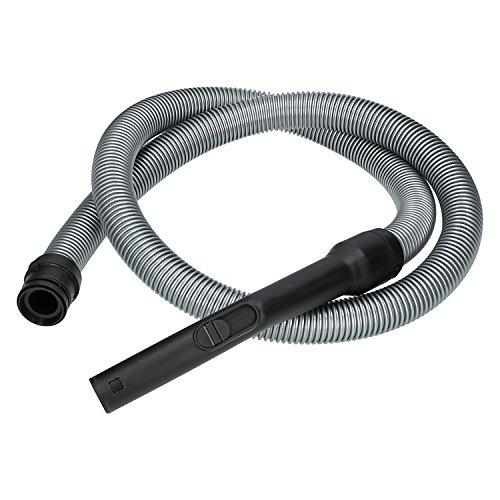 ✧WESSPER® Tuyau pour aspirateur Miele Complete C2 EcoLine Plus (ø35mm, 200cm, noir)