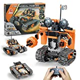 STEM Projects for Kids Ages 8-12, Compatible with Lego Robot Remote & APP Controlled Robots Learning Educational Toys Science Kits for Kids