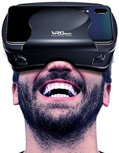 Gafas 3DVR con Pantalla de luz Anti-Azul Desmontable y ángulo de 120 ° de Ancho Adecuado para Dispositivos de Gafas para teléfonos Inteligentes de 5 a 7 Pulgadas Evolutions
