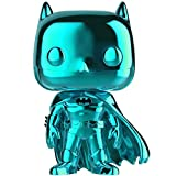 Lotoy Funko Pop Heroes - Batman 80 Years Teal Chrome Figure #144 Derivatives ,Multicolor Gift