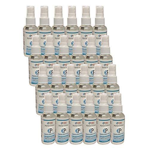bulk hand sanitizer minis Sanitizer - hand sanitizer - small hand sanitizer travel size - mini hand sanitizer bulk - hand sanitizers - scented hand sanitizer - pocket hand sanitizer (24 pack) Made in USA in 60ml/2 oz. bottle