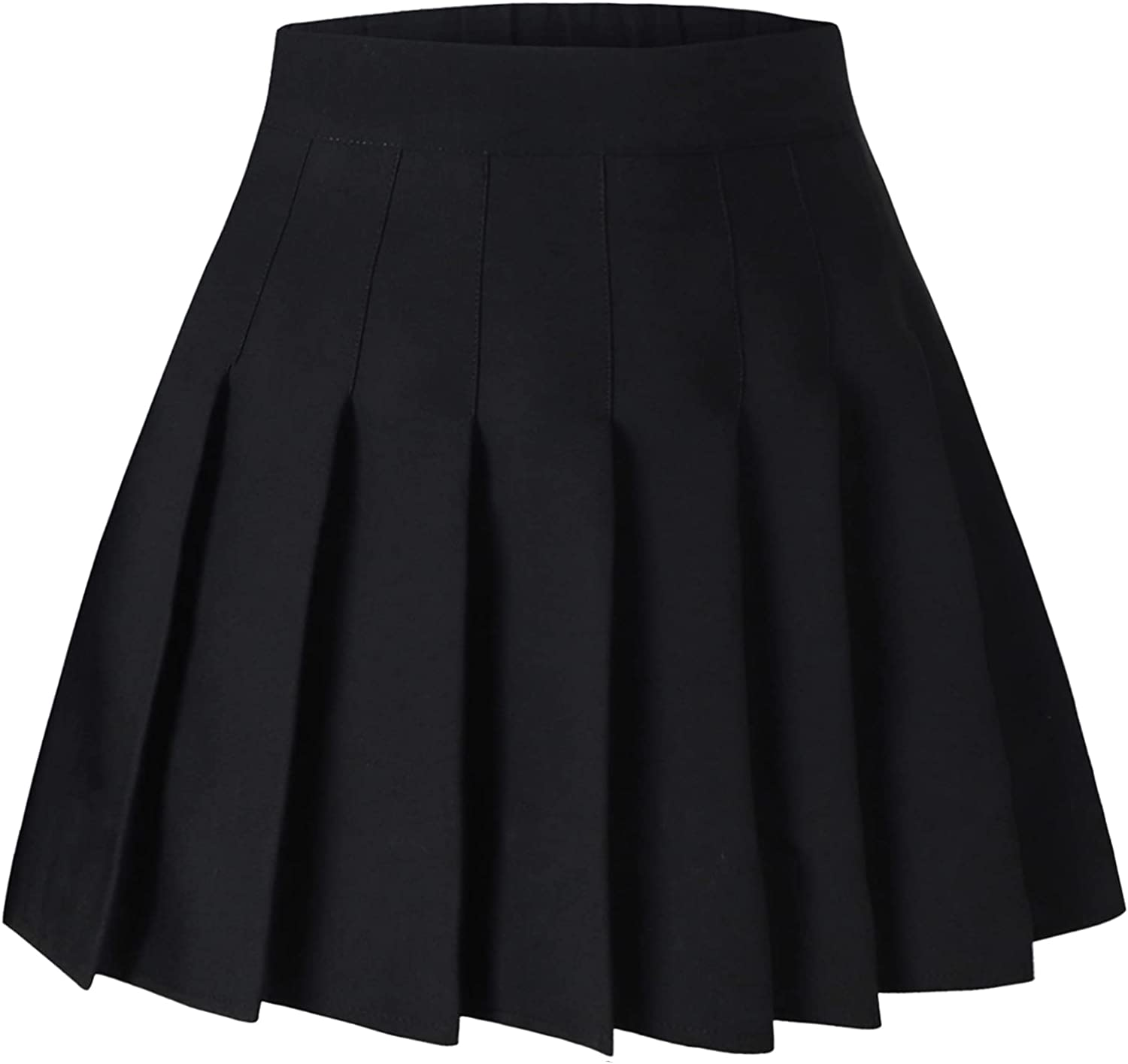 SANGTREE Girls Women's Pleated Skirt Comfy Band Stretchy 2 with Sale Max 75% OFF item