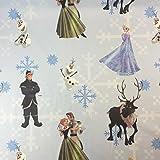 Disney Frozen Olaf - Stoff für Kinder, 100% Baumwolle,