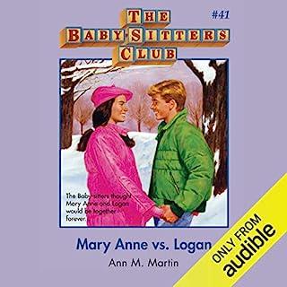 Mary Anne vs. Logan audiobook cover art
