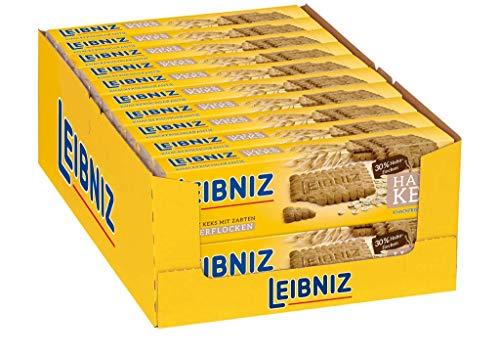Leibniz Haferkeks, Keks mit zarten Haferflocken - Gesunder Keksvorrat für die ganze Familie - für Schule, Uni und unterwegs, 20er Pack (20 x 230 g)