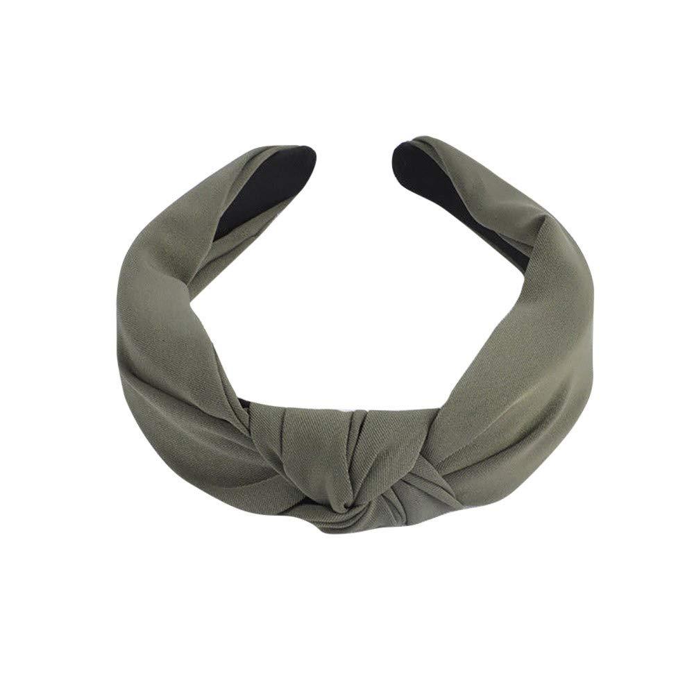 Fashion Bowknot Hair Band Women Simple Sweet Hair Headband Hoop Hair Accessories