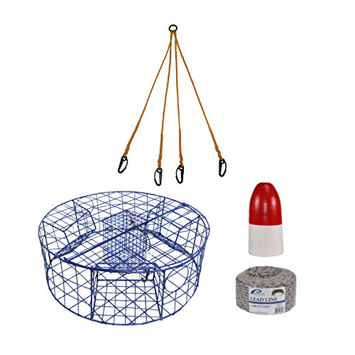 RESTCLOUD Fishing Landing Net with Telescoping Pole, Aluminum Handle Full Extended to 50 Inches