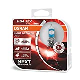 OSRAM NIGHT BREAKER LASER HB4, Gen 2, +150% más...