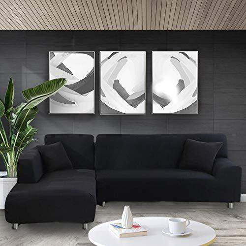 ASCV Funda de sofá elástica Estiramiento Apretado Envoltura Todo Incluido Fundas de sofá para Sala de Estar Funda de sofá Silla Funda de sofá A5 2 plazas