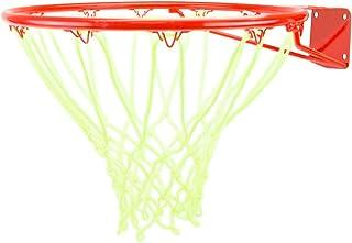 glow-in-the-darkホワイトナイロンBasketball Net byクラウンスポーツ用品