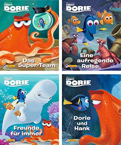 Nelson Mini-Bücher: 4er Disney Findet Dorie 1-4