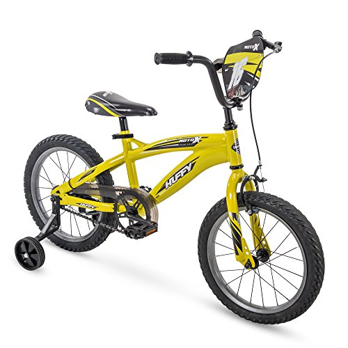 Huffy 16' MotoX Boys Bike, Yellow