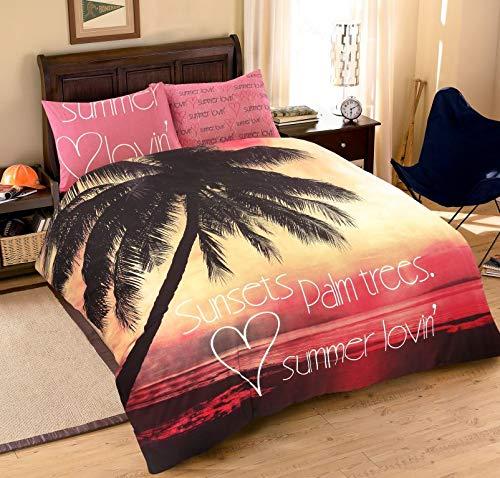 Nimsay Home Parure de lit pour enfant, Mélange de coton, multicolore, Double