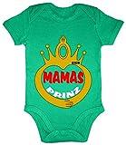 Hariz - Body de manga corta para bebé, con frases divertidas y divertidas para niñas, cumpleaños, tarjeta de regalo con rana, color verde
