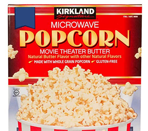 Fantastic Prices! Kirkland Signature Microwave Popcorn: 22-Count Bags (NO BOX) (3.3 oz)