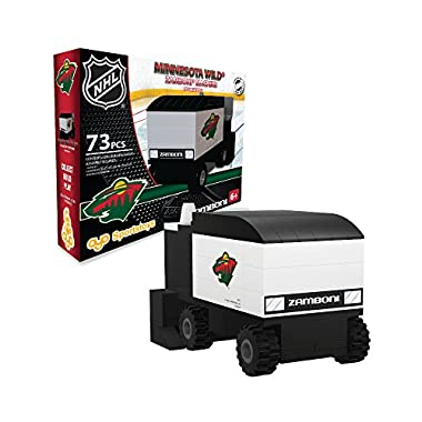 OYO Sports NHL Buildable Zamboni Minnesota Wild
