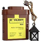 Kahlert Licht 20104 Krippenlaterne 4.5 V mit Batterie-Box