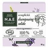 N.A.E. - Shampooing Solide Certifié Bio - Usage Quotidien Cheveux Normaux - 85 g