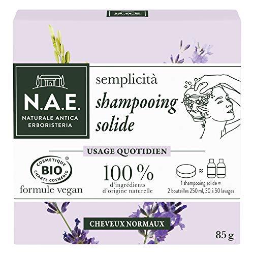 N.A.E. - Shampooing Solide Certifié Bio - Usage...