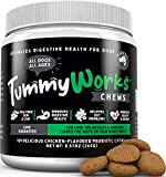 TummyWorks Probiotic Chews for Dogs. Relieves Diarrhea, Upset Stomach,...
