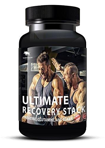 Muskelaufbau Anabol Boost: Ultimate Recovery Stack mit Creatine, Glutamine, und BCAA's (90)