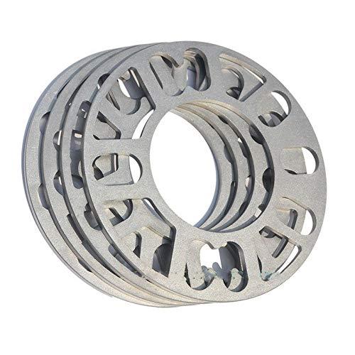 L-xia-mzj (4pcs / Lot) 4x100 4x108 5x100 5x105 5x108 4x114.3 5x112 5x120 5x114.3 Aluminio ET Calces de Ajuste de Coches Separadores