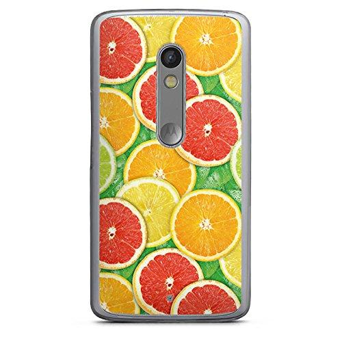 DeinDesign Lenovo Moto X Play Hülle Case Handyhülle Lemon Zitrone Sommer Trend